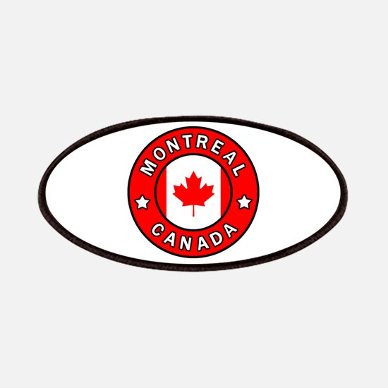 Montreal Canada Patch