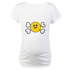 Sad Crying Smiley & Crossbones Shirt