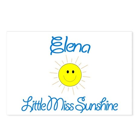 Elena - Little Miss Sunshine Postcards (Package of