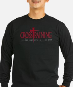 CrossTraining Long Sleeve Black T-Shirt