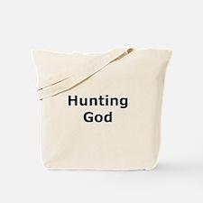 Hunting God Tote Bag