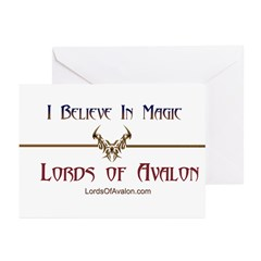 Lords of Avalon Greeting Cards (Pk of 10)