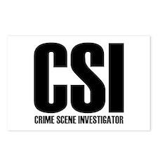 CSI - crime scene investigato Postcards (Package o