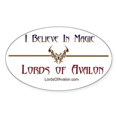 Lords of Avalon Oval Decal