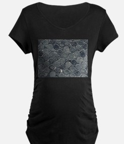 Coins Maternity T-Shirt
