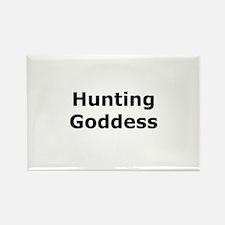 Hunting Goddess Rectangle Magnet
