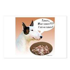 Mini Bull Turkey Postcards (Package of 8)