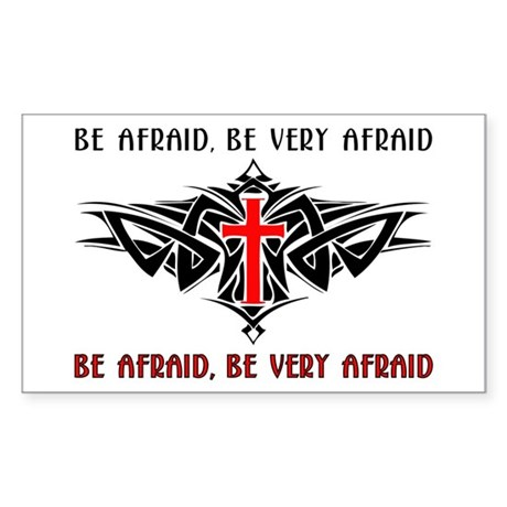 Tribal Cross Products Rectangle Sticker