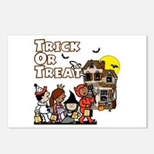 Trick-Or-Treat gang Postcards (Package of 8)