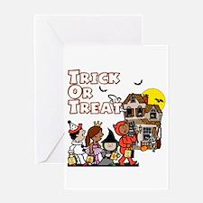 Trick-Or-Treat gang Greeting Card