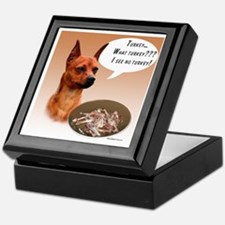 Min Pin Turkey Keepsake Box