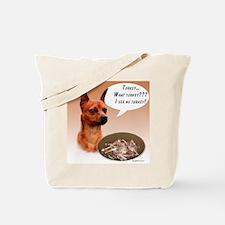 Min Pin Turkey Tote Bag