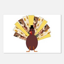 Quilted Turkey Postcards (Package of 8)