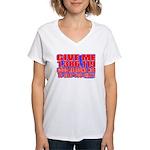 Slap You Silly Women's V-Neck T-Shirt