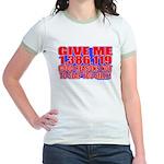 Slap You Silly Jr. Ringer T-Shirt