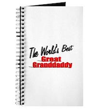 """The World's Best Great Grandaddy"" Journal"