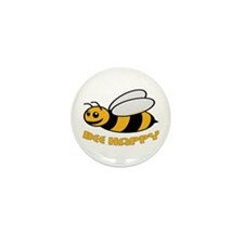 BEE HAPPY Mini Button (10 pack)