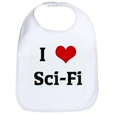 I Love Sci-Fi Bib