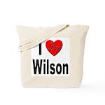 I Love Wilson Tote Bag