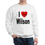 I Love Wilson Sweatshirt