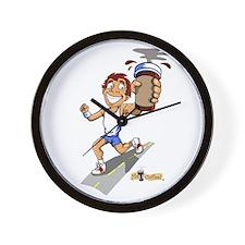 Runner (Male) Wall Clock