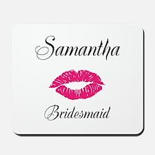 Personalized Bridemaid Mousepad