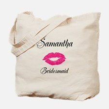 Personalized Bridemaid Tote Bag