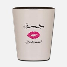 Personalized Bridemaid Shot Glass