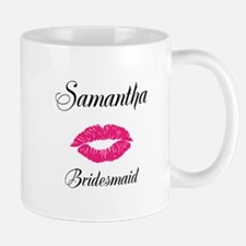 Personalized Bridemaid Mugs
