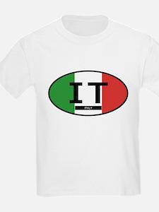 Italy Full Flag T-Shirt