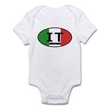 Italy Full Flag Onesie