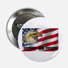 "EAGLE FLAG 2.25"" Button"