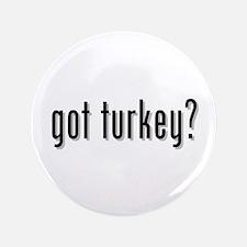 """got turkey? 3.5"""" Button"""