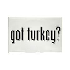 got turkey? Rectangle Magnet (10 pack)