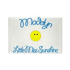 Madelyn - Little Miss Sunshin Rectangle Magnet
