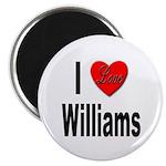 I Love Williams Magnet