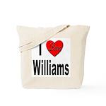 I Love Williams Tote Bag