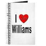 I Love Williams Journal