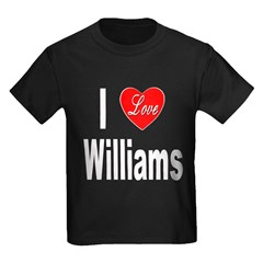 I Love Williams (Front) T