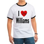 I Love Williams (Front) Ringer T