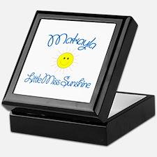 Makayla - Little Miss Sunshin Keepsake Box