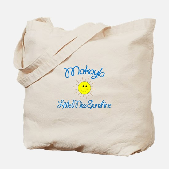 Makayla - Little Miss Sunshin Tote Bag