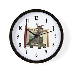 Daisy Donkey Wall Clock