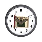 Bennie Bat Wall Clock