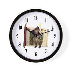 Puss 'N Boots Wall Clock