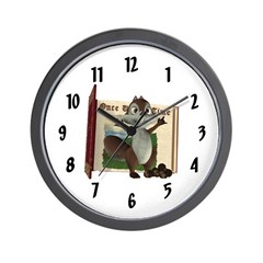 Nickie Squirrel Wall Clock