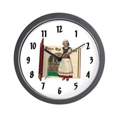 Mother Goose Wall Clock