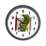 Jack 'N the Beanstalk Wall Clock
