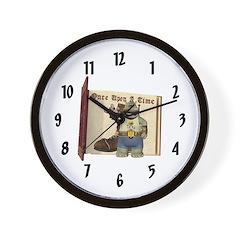 Heath Hippo Wall Clock