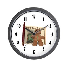 Gingerbread Man Wall Clock